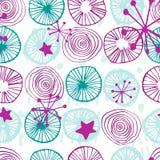 Vector seamless pattern simple scandinavian style stock photos
