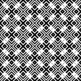 Black Geometric Seamless pattern in white background royalty free stock images