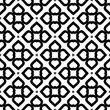 Black Geometric Seamless pattern in white background stock photo