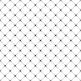 Vector seamless pattern. Simple stylish texture. Black-and-white background. Monochrome minimalistic design. royalty free illustration
