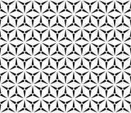 Vector seamless pattern, simple triangular texture Royalty Free Stock Image