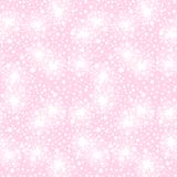 Vector seamless pattern with small furry flowers Stock Photography