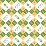 Vector seamless pattern smart devices. Vector seamless pattern of smart devices and electronics. Geometric pattern with elements of modern technology - stock Royalty Free Stock Photography