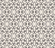 Vector Seamless Pattern. With Snowflakes, fully editable eps 10 file with clipping masks and seamless pattern in swatch menu Stock Photos