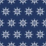 Vector seamless pattern with snowflakes. Winter background. EPS10 royalty free stock images