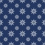 Vector seamless pattern with snowflakes. Winter background. EPS10 royalty free illustration