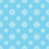 Vector seamless pattern with snowflakes. Winter background. EPS10 stock illustration