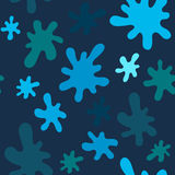 Vector seamless pattern with spots Royalty Free Stock Image