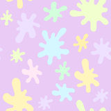 Vector seamless pattern with spots Royalty Free Stock Photo
