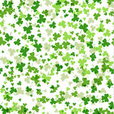 Vector seamless pattern for St Patricks Day celebration.  Royalty Free Stock Images