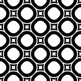 Vector seamless pattern, staggered monochrome texture Royalty Free Stock Photos