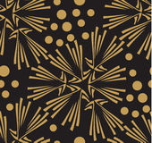 Vector seamless pattern. stylish texture. endless Stock Images
