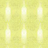Vector seamless optical pattern with sunbursts and bottles Stock Image