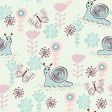 Vector  seamless pattern. Royalty Free Stock Image