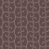 Vector seamless pattern with swirls Stock Photo