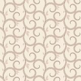 Vector seamless pattern with swirls Stock Photography