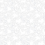 Vector seamless pattern with swirls motifs. Stock Photos