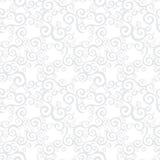 Vector seamless pattern with swirls motifs. Vector seamless pattern with swirls motifs in retro style. Light scroll work background. Element for design Stock Photos