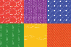 Vector seamless pattern. Texture. Royalty Free Stock Images