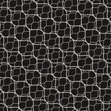 Vector seamless pattern, thin diagonal wavy lines, black mesh te. Vector seamless pattern, thin diagonal wavy lines. Subtle texture of mesh, fishnet, lace Royalty Free Stock Photography