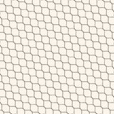 Vector seamless pattern, thin diagonal wavy lines, mesh texture Stock Image