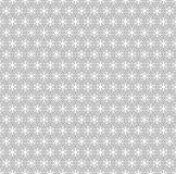 Vector seamless pattern, thin geometric figures Stock Photography