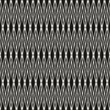 Vector seamless pattern with thin lines. Dark texture of mesh. Stock Image