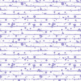 Vector seamless pattern, tile with inc splash, blots, smudge and brush strokes, lines. Grunge endless template for web background, Stock Photo