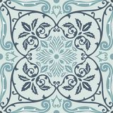 Vector seamless pattern tiling with arabesque Stock Photography