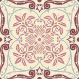 Vector seamless pattern tiling with arabesque Stock Image
