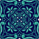 Vector seamless pattern tiling with arabesque Royalty Free Stock Photos