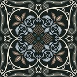 Vector seamless pattern tiling with arabesque Stock Photos