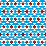 Vector seamless pattern with triangles stock illustration