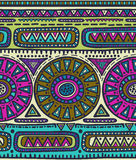Vector seamless pattern for tribal design. Ethnic motif. Stock Images