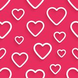 Vector seamless pattern for Valentine's Day with Stock Photos