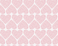 Vector seamless pattern of Valentine's Day in Stock Photos