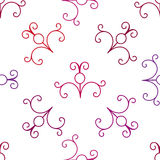 Vector seamless pattern. Vector curl decoration for wallpaper or invitation card. Art illustration Royalty Free Stock Photos