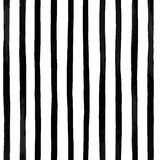 vector seamless pattern with vertical black and white striped. Vintage textured background Stock Images