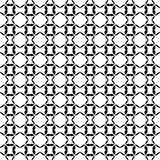Black and white seamless curved pattern stock photos