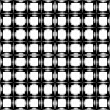 Black and white curved seamless pattern. Vector seamless pattern, vertical wavy lines, smooth bends. Simple monochrome blackVector seamless pattern, vertical Stock Illustration