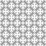 Black and white seamless curved pattern royalty free stock photo