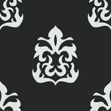 Vector seamless pattern in Victorian style Stock Photos