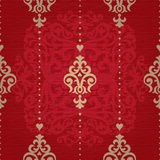 Vector seamless pattern in Victorian style. Stock Photos