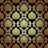 Vector seamless pattern in Victorian style. Royalty Free Stock Photos