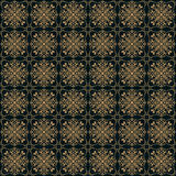 Vector seamless pattern in Victorian style. Royalty Free Stock Images