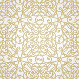 Vector seamless pattern in Victorian style. Royalty Free Stock Photography