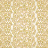 Vector seamless pattern in Victorian style. Golden element for design. Ornamental backdrop and light lace background. Ornate floral decor for wallpaper Royalty Free Stock Photos