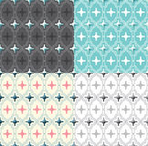 Vector Seamless Pattern Vintage Design. Stock Photography