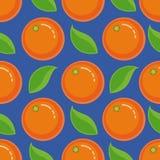 Seamless pattern orange. Background. Vector. Stock Photos