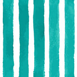 Vector Seamless Pattern with Watercolor Stripes Royalty Free Stock Photos